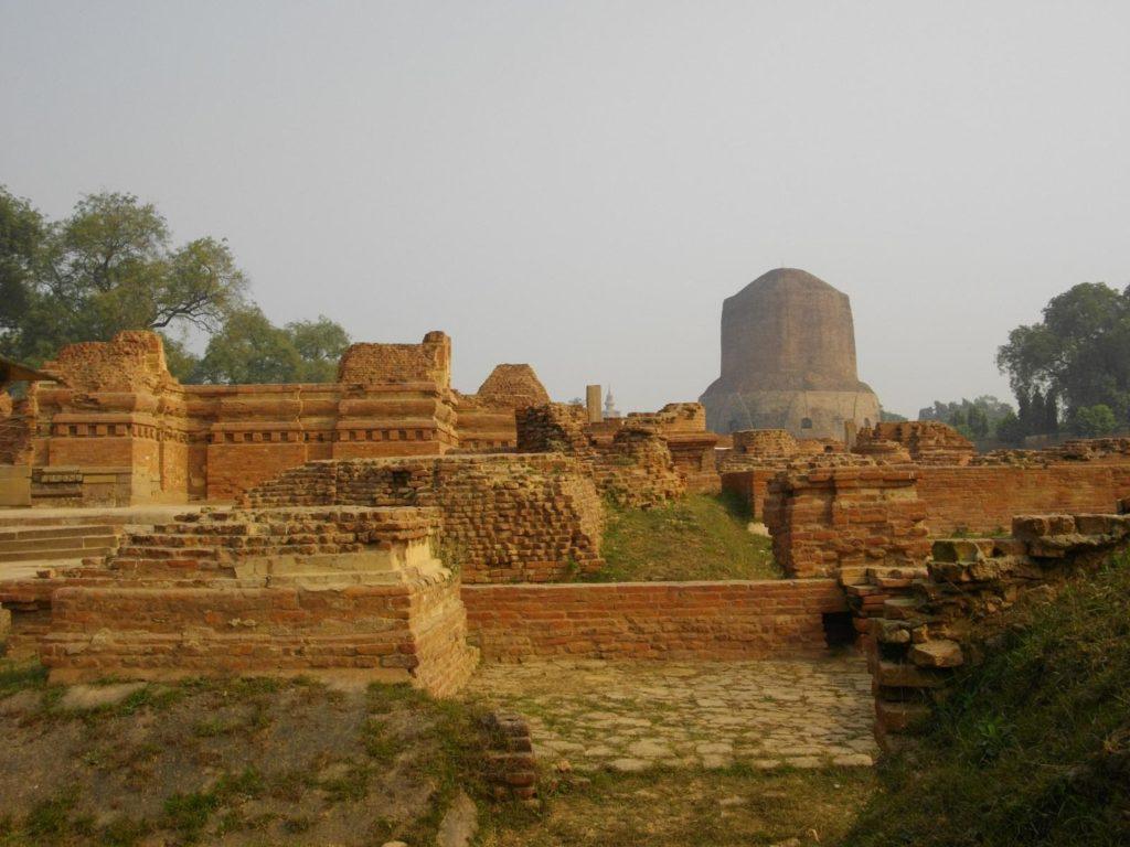 Dhameka Stupa