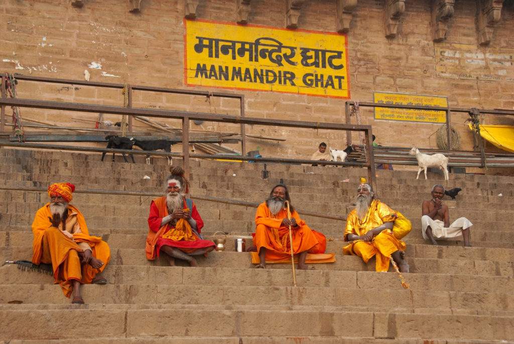Sadhus at the Ghat