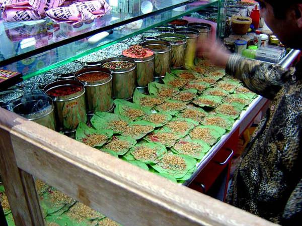 Paan shop in Varanasi