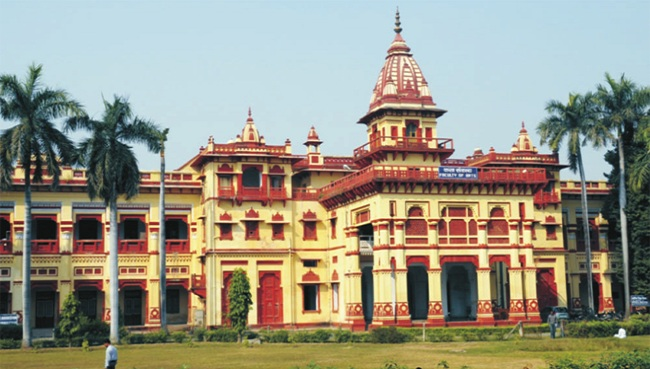 Banaras Hindu University attracts many research scholars from abroad
