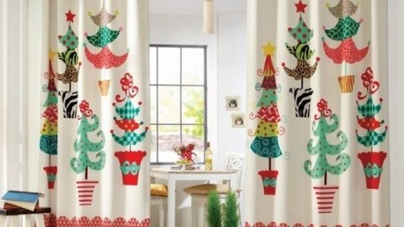 Christmas Themed Curtains