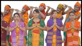 The traditional Bodo attire