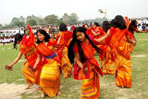 Bodo dancers