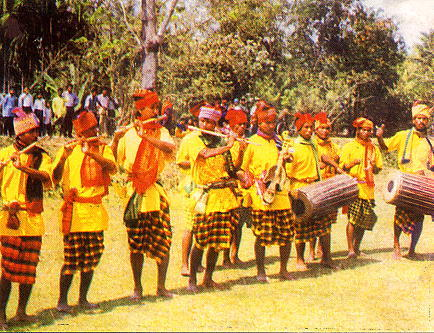Musicians playing traditional tunes