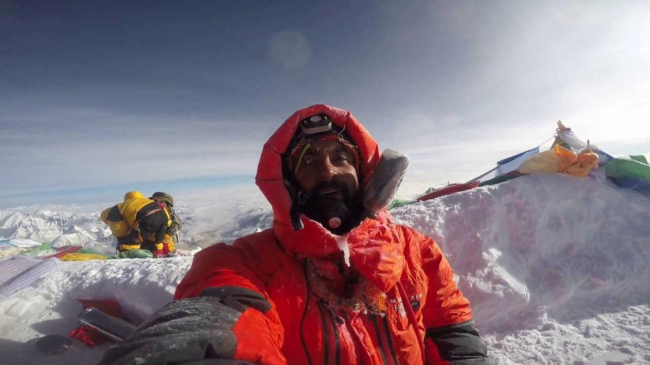 At the glorious peak.