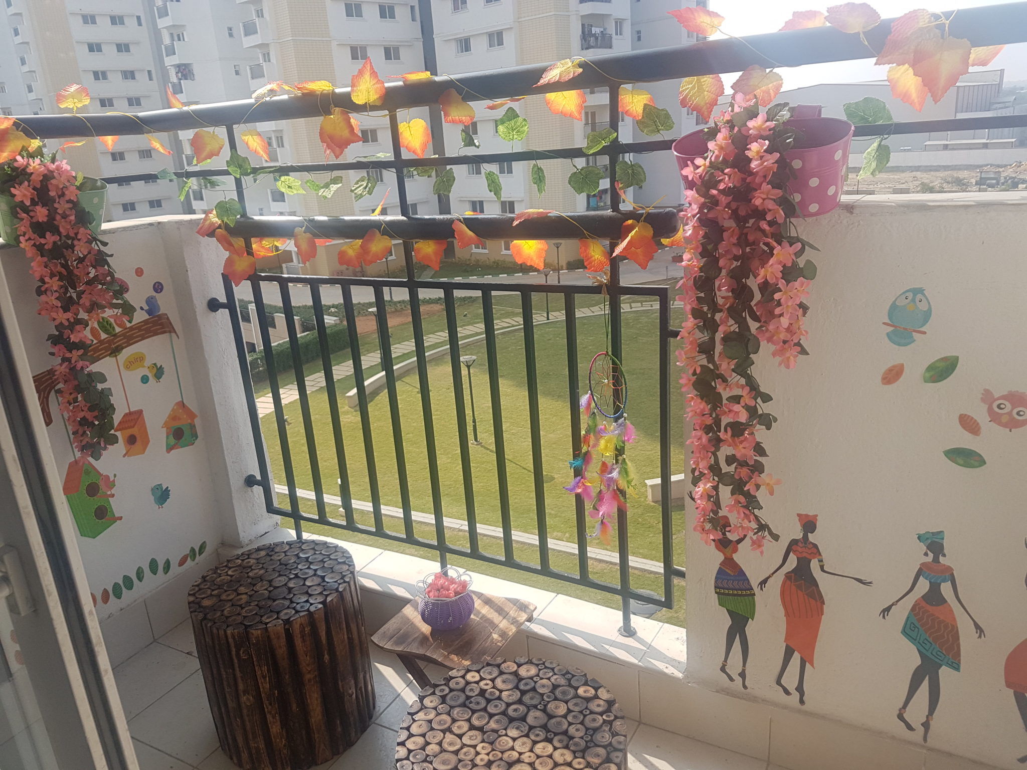 Garden Balcony Decor