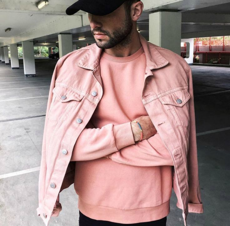All-white-everything and Millenial Pink for Men