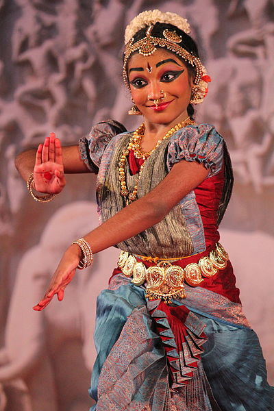 Beautiful expressions of a dancer