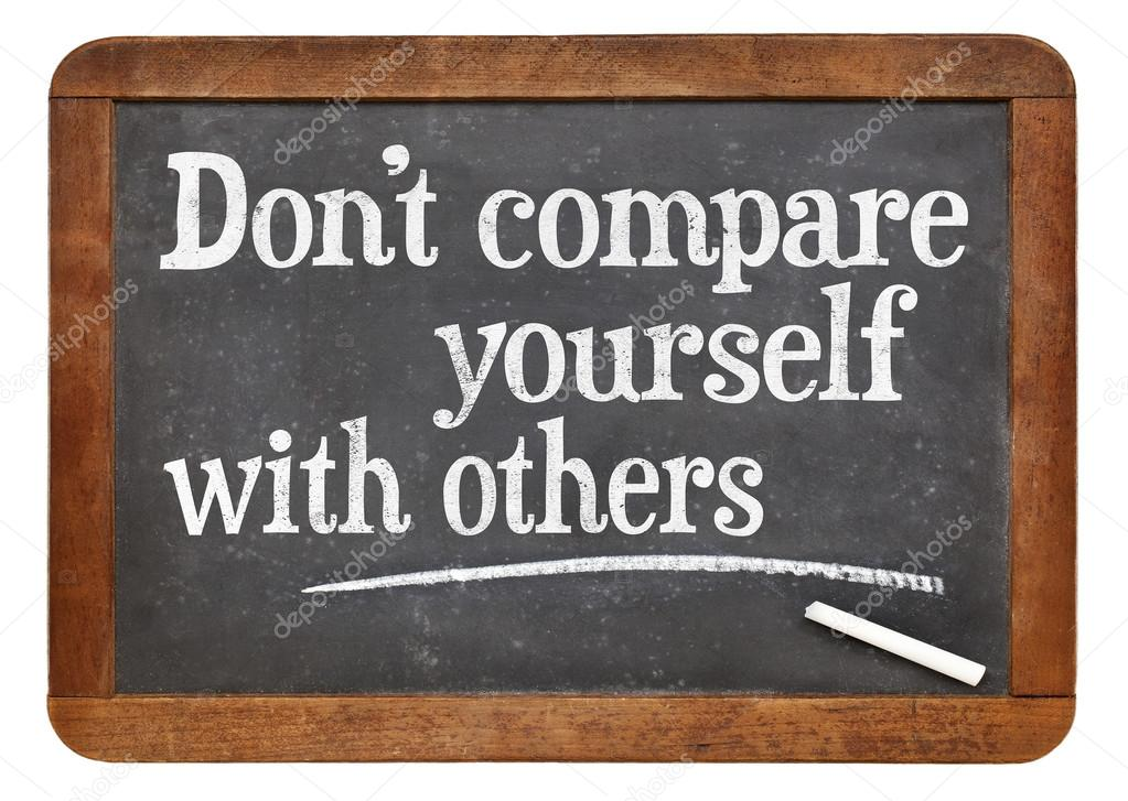 Compete with yourself!