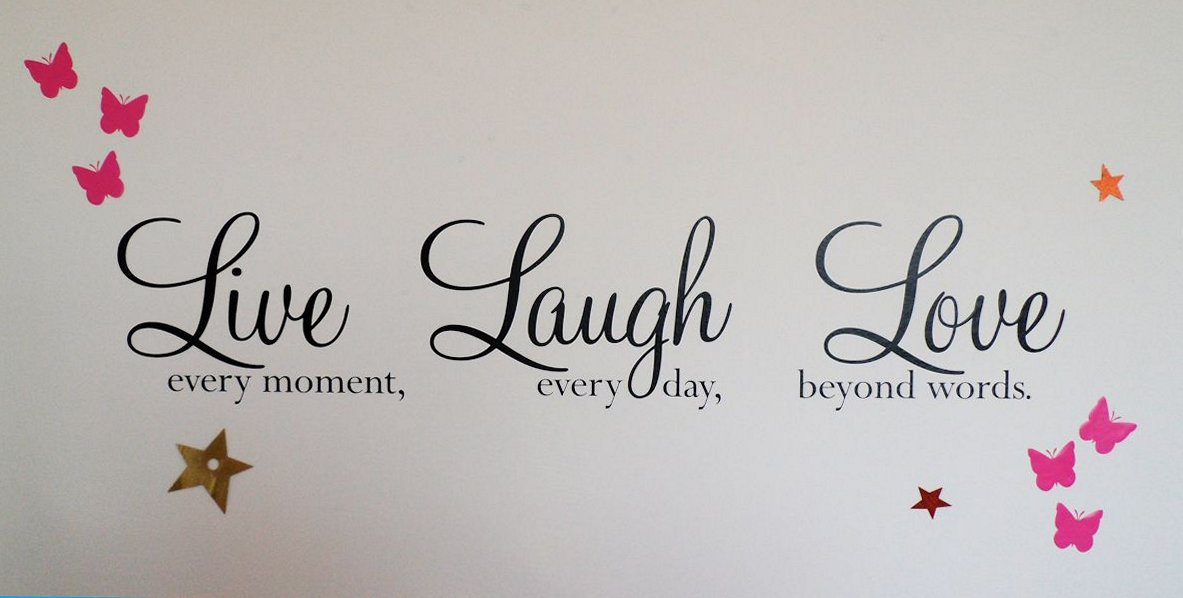 Love, laugh and live more!