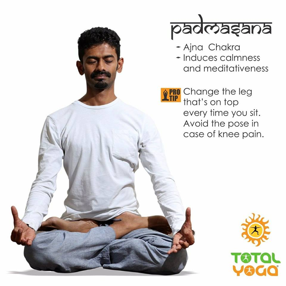 Asanas for healing diseases