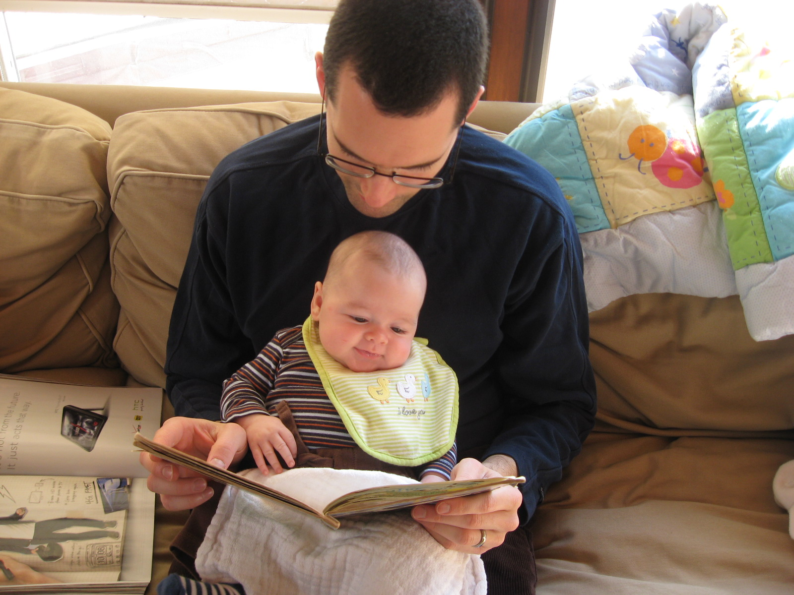 Reading improves the vocabulary and analytical skills.