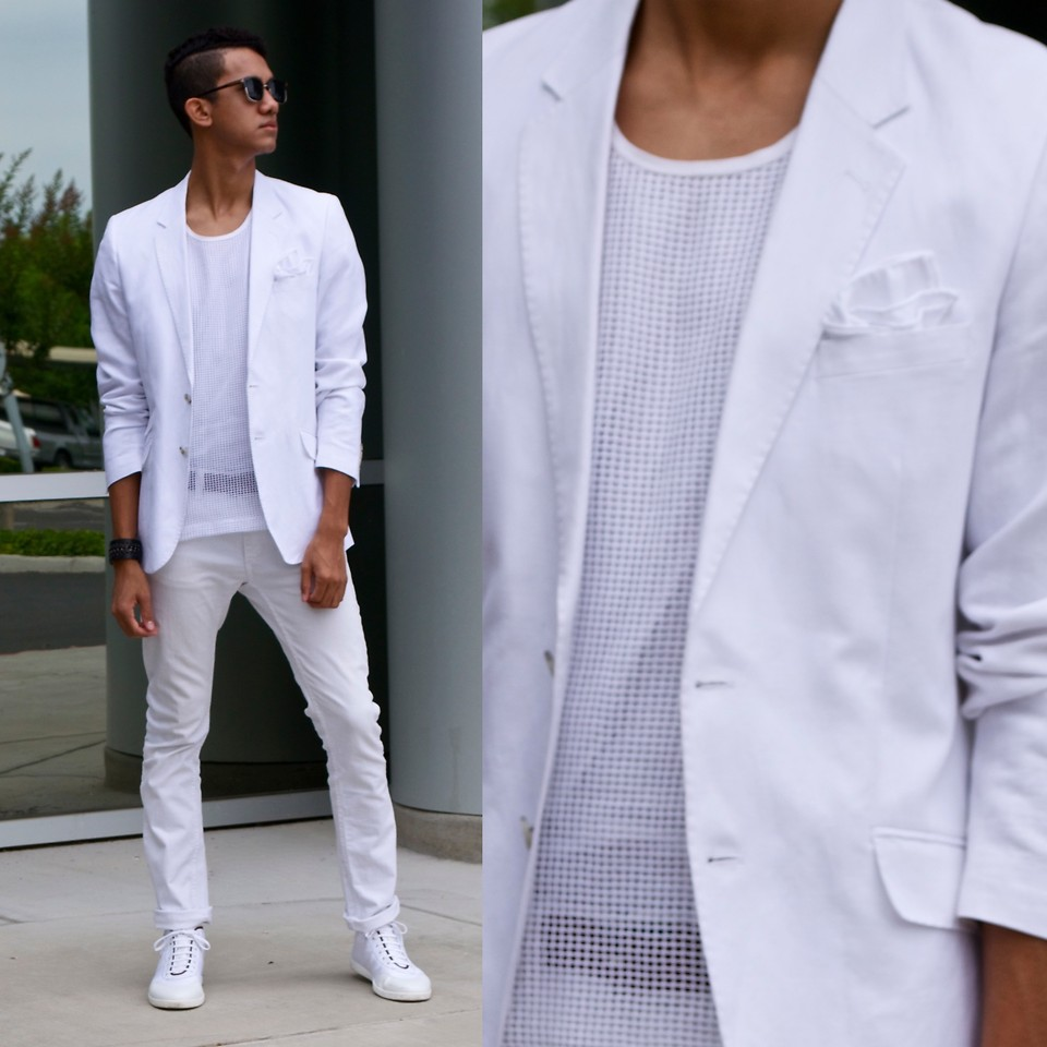 White Long Sleeve Shirts For Men