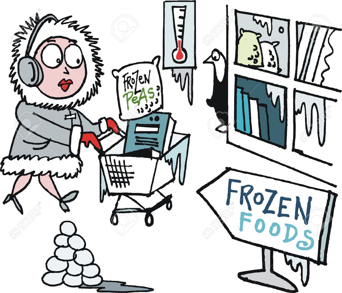 Do you get attracted towards Frozen Food Products?