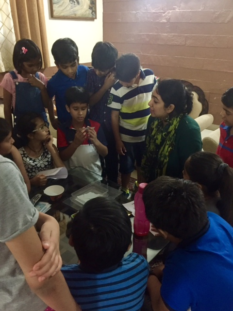 Candidly's workshop with kids about body safety