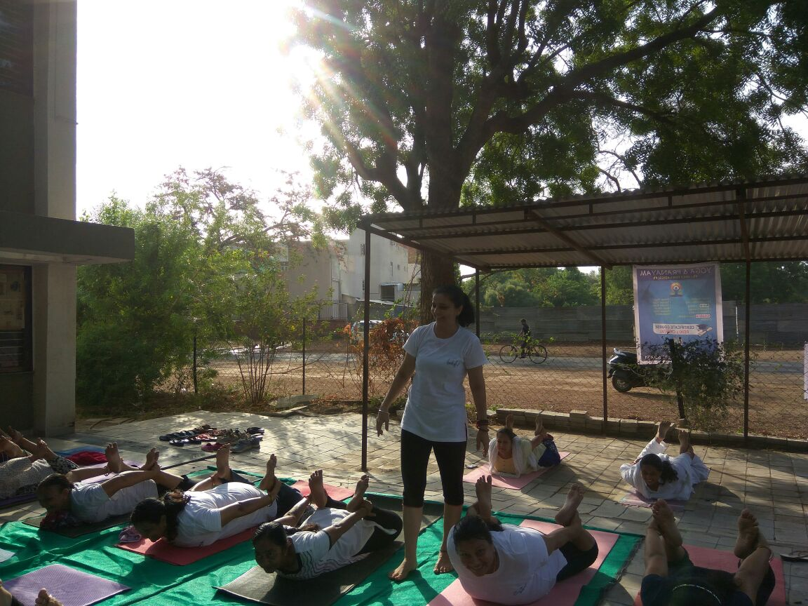 yoga for healthy and stress free life