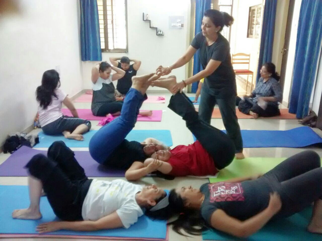 """""""Yoga helps in gaining confidence"""""""