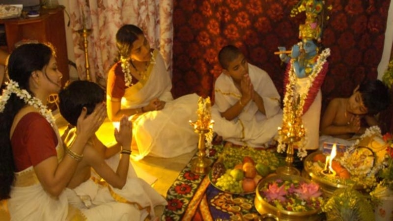 Vishu is an auspicious event.