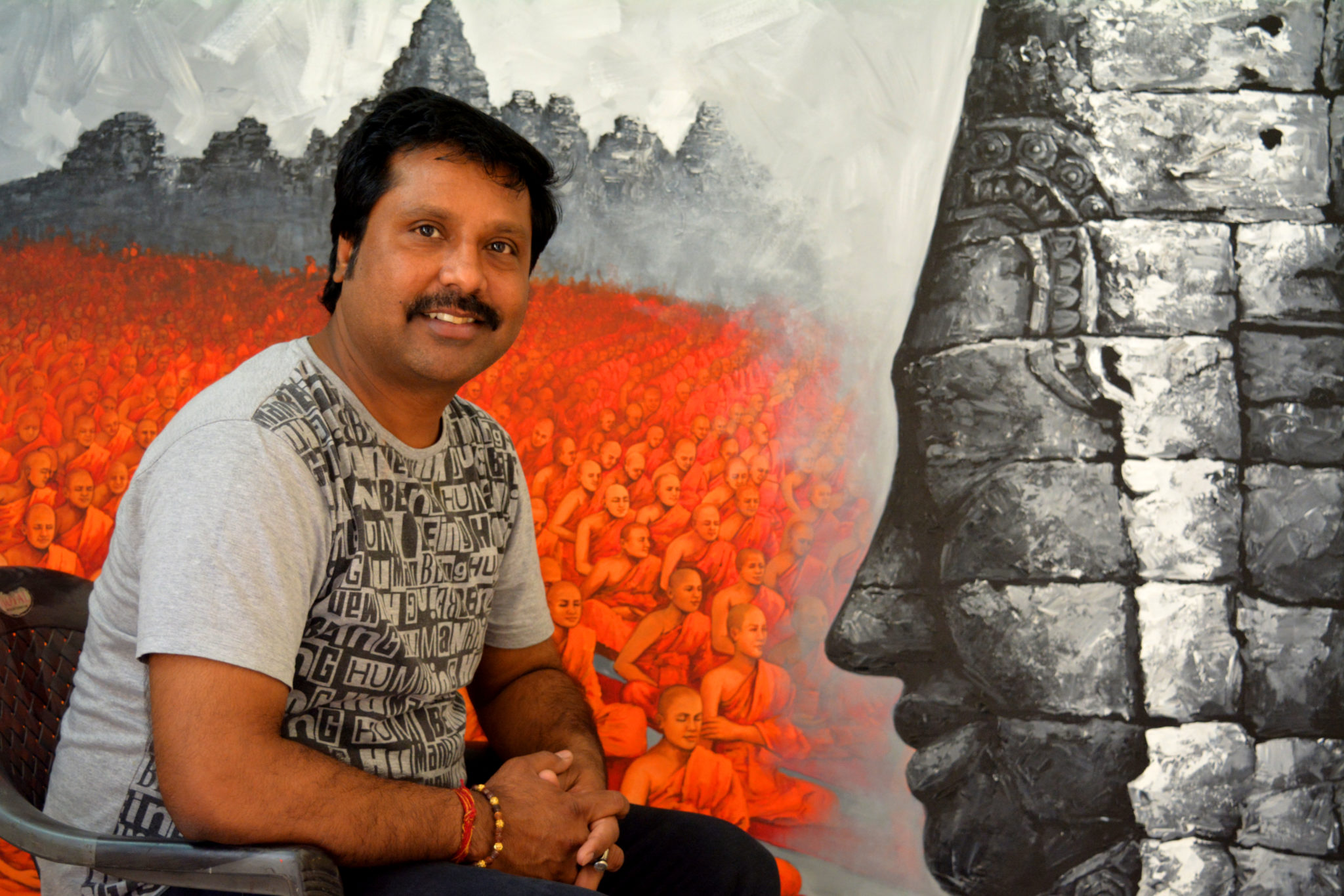 Sanjay Soni-Self-Taught Painter
