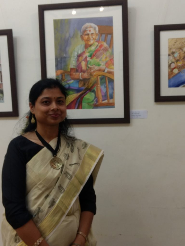The Painter and teacher-Shipra Gupta