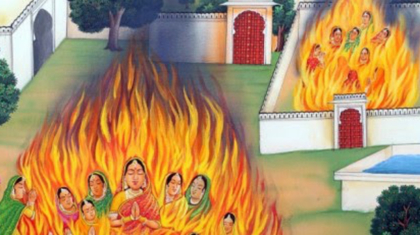 Jauhar-Self Immolation of Women, BananiVista