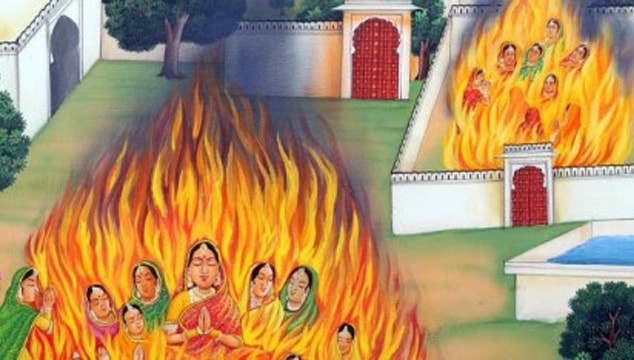 Jauhar-Self Immolation of Women