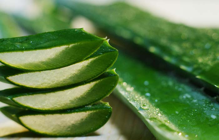 Aloe Vera for smooth skin