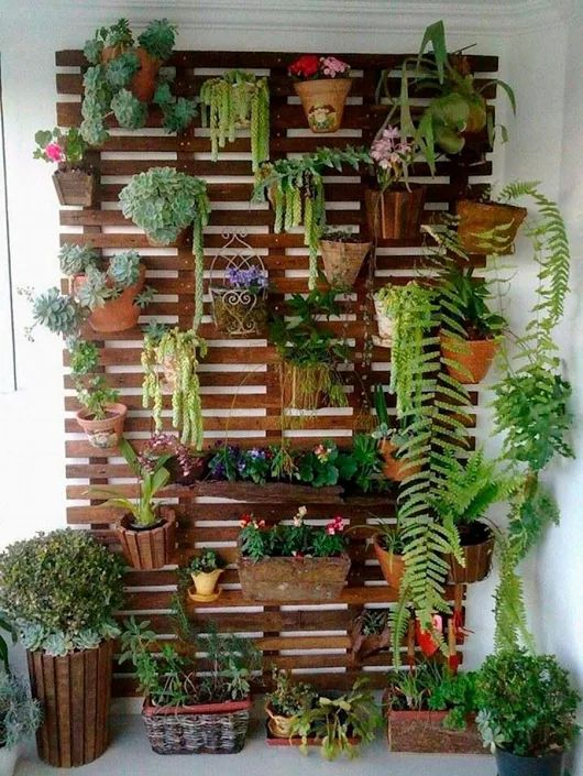 A little greenery goes a long way in beautifying your balcony