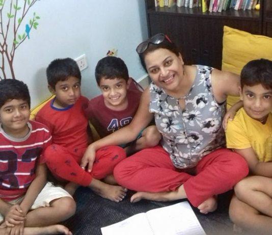 Divyaa Doraiswamy conducts shloka classes on SKYPE as she has students across the globe BananiVista
