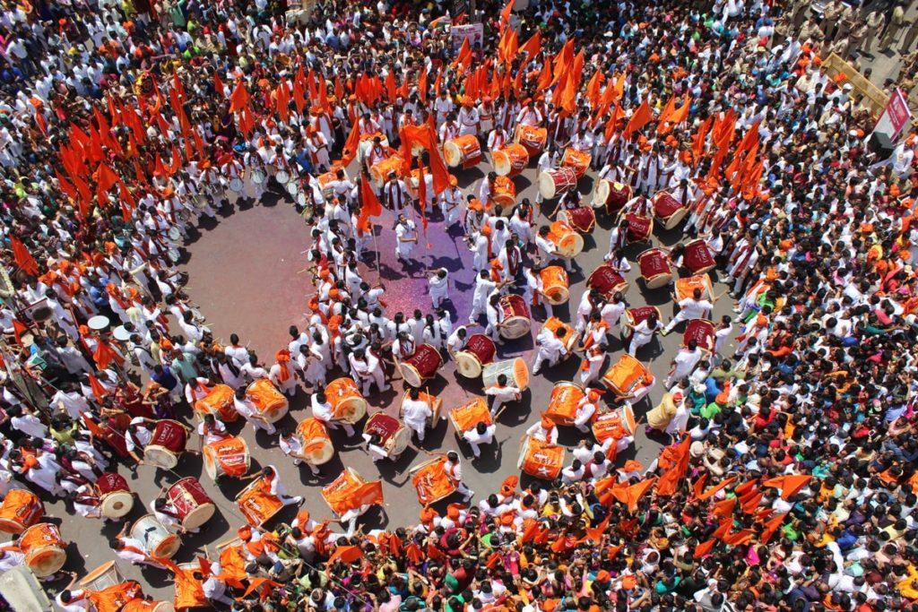 The spirit of Maharashtra during Gudi Padwa