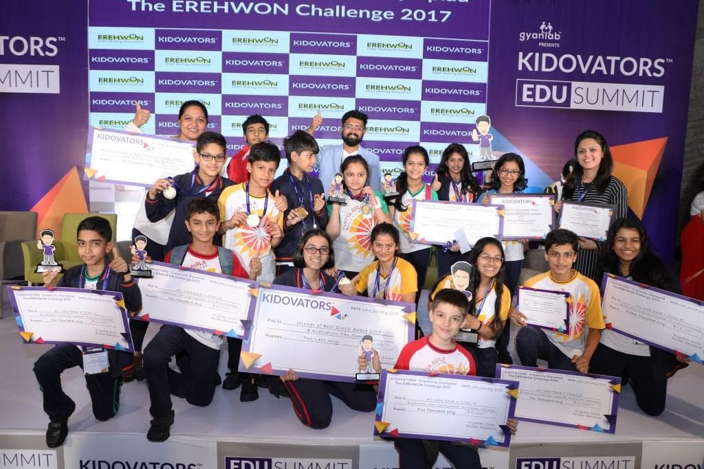 Priyadeep with young talents