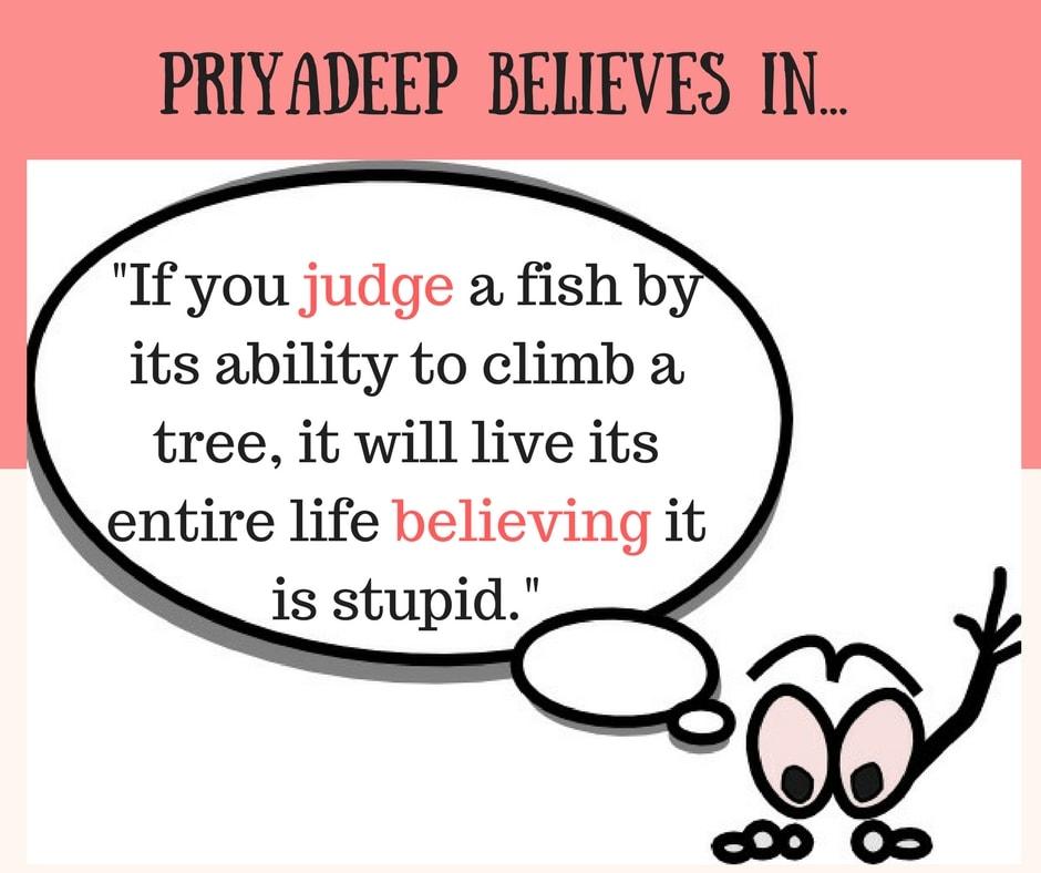 Priyadeep's Life Mantra