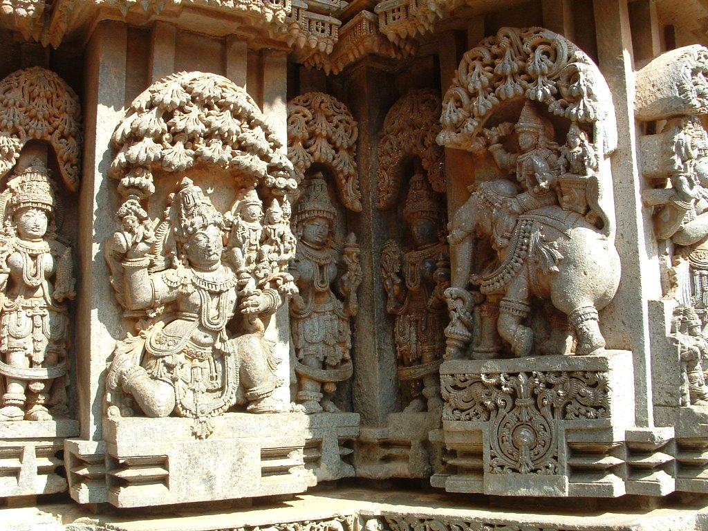 Amazing Hoysala architecture
