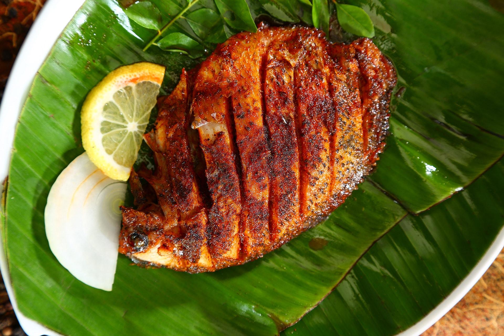 Yummy Karimeen fry