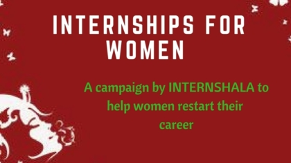 Internships for Women-Intershala