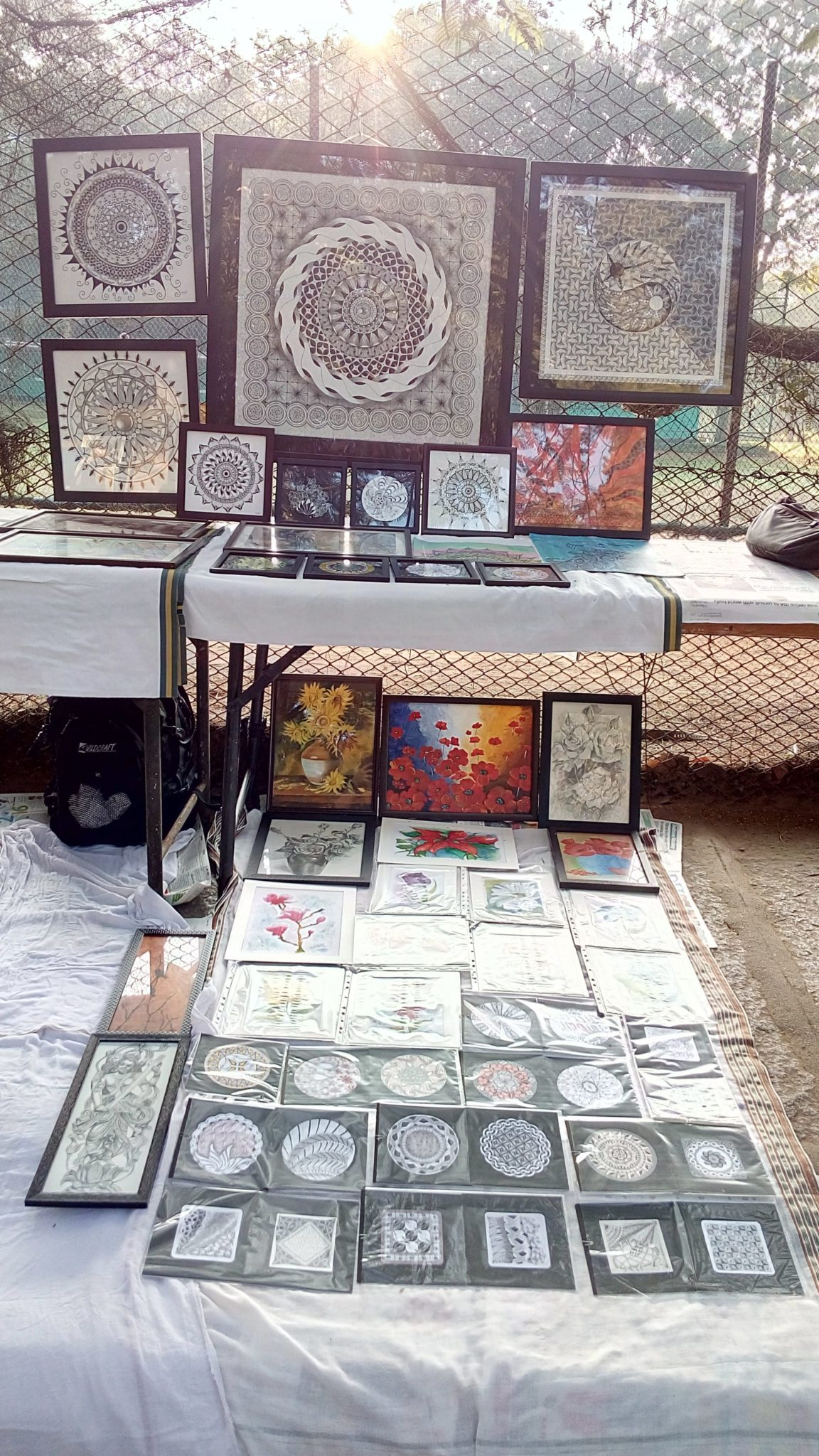 Learn the art of Zentangle!