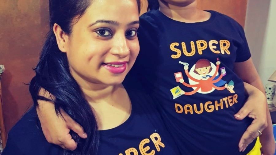 Mother-Daughter Matching Tees from BonOrganik