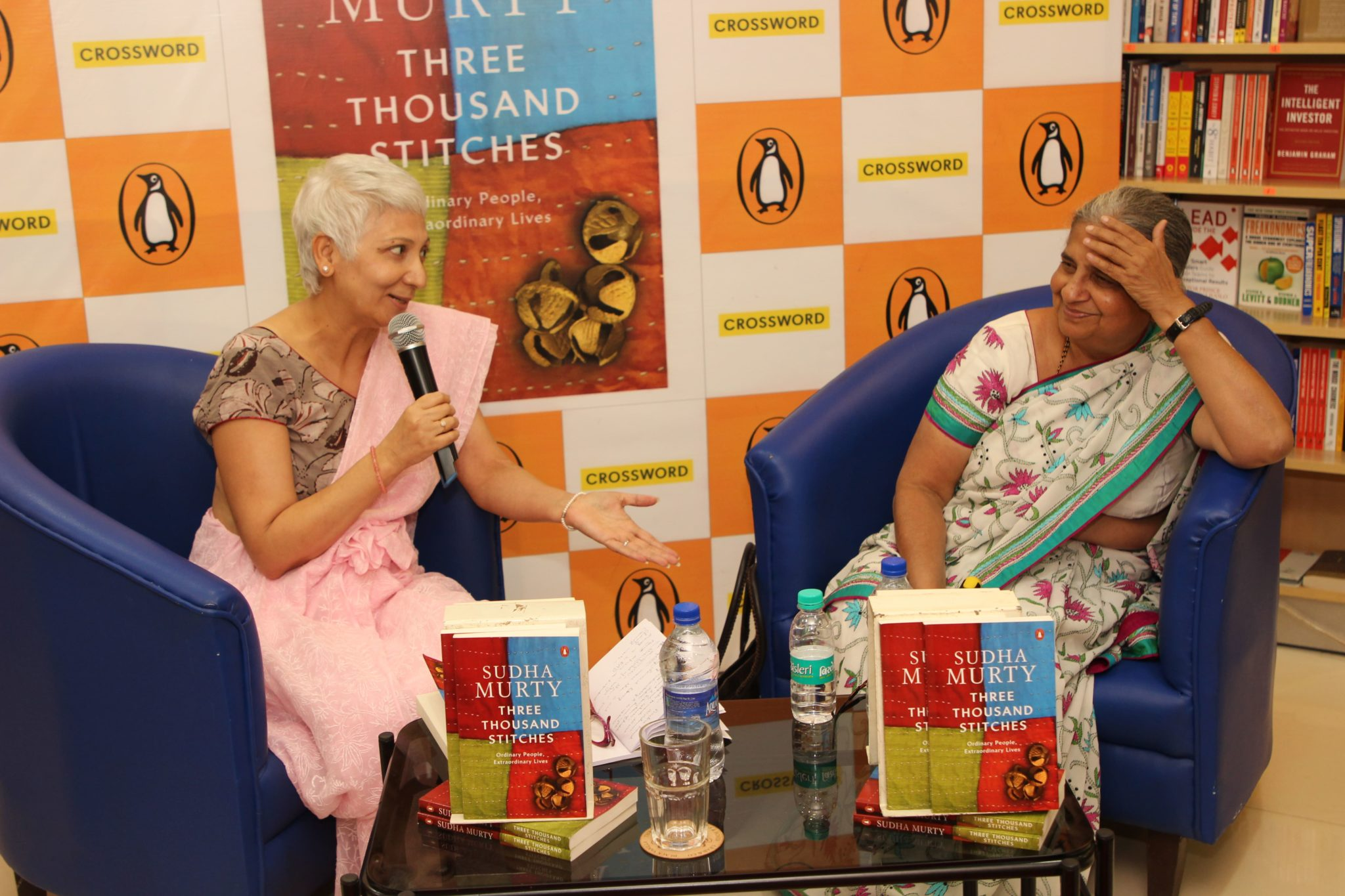 Rendezvous With Sudha Murthy