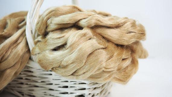 The golden silk threads
