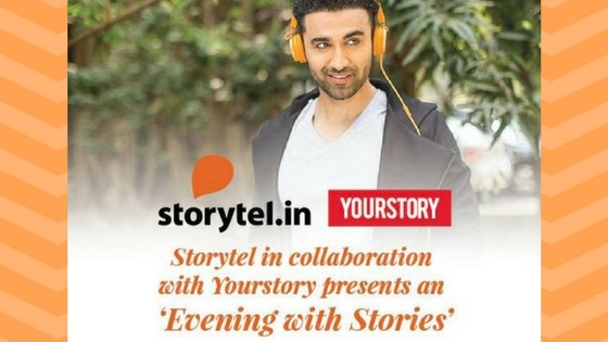 An evening with Storytel