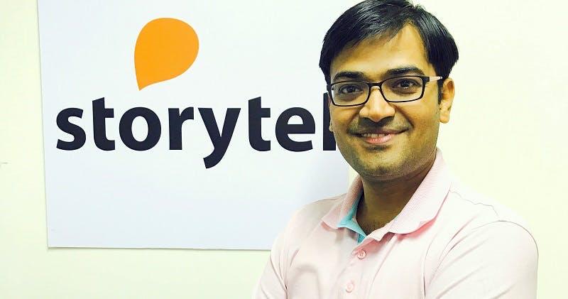 Yogesh Dashrath, Country Manager, Storytel