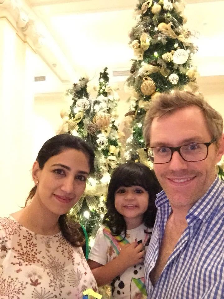 Johan and his family