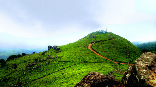 Ponmudi-known for lush green sloping hills