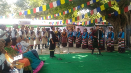 Performace by Tibetan School of Arts, Banani Vista, Festival