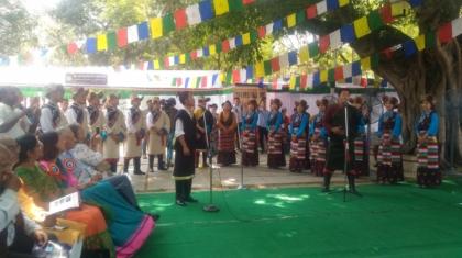 Performace by Tibetan School of Arts, Banani Vista, Festival