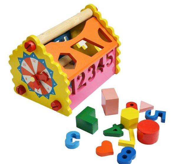 The Shape and Number House for Kids, toys, BananiVista