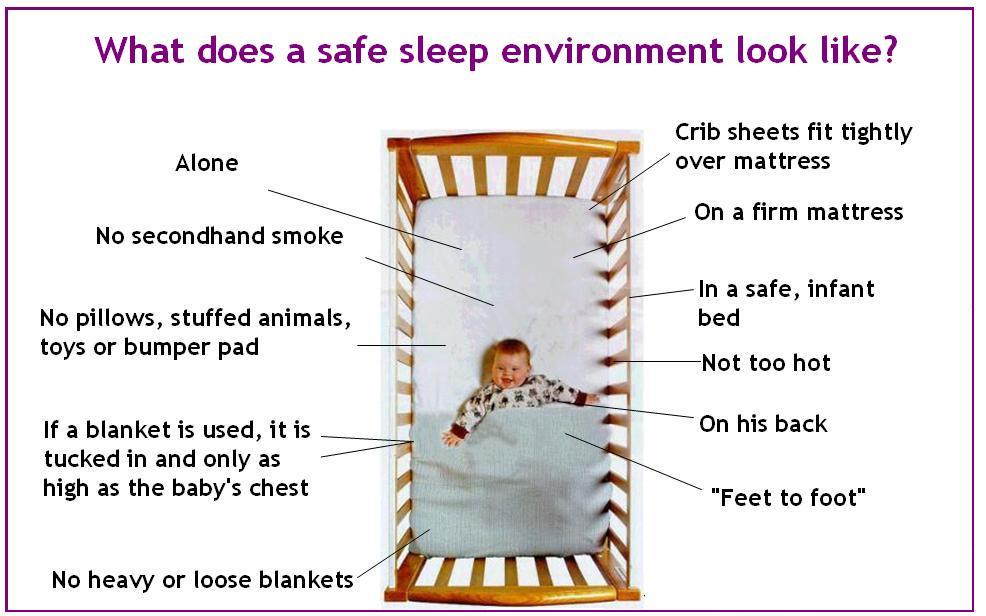 Safety tips for newborns