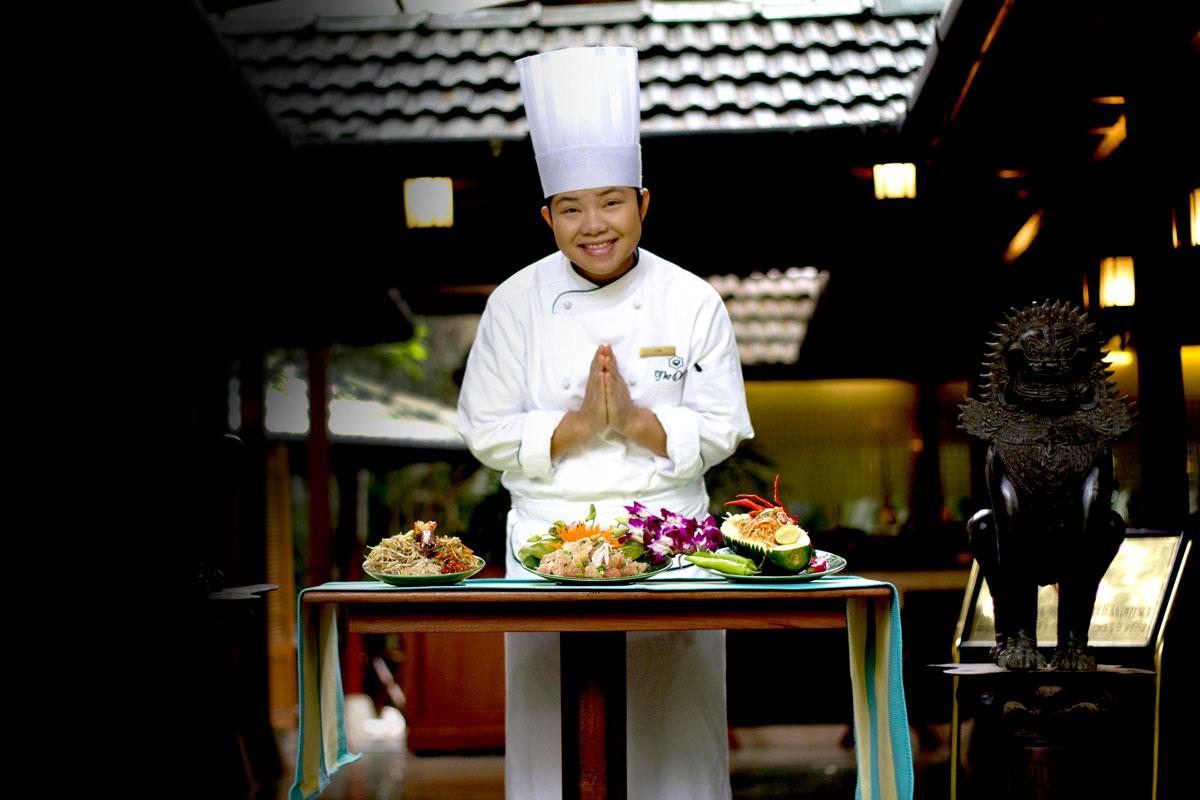 BananiVista, Thai Chef Tam, Oberoi