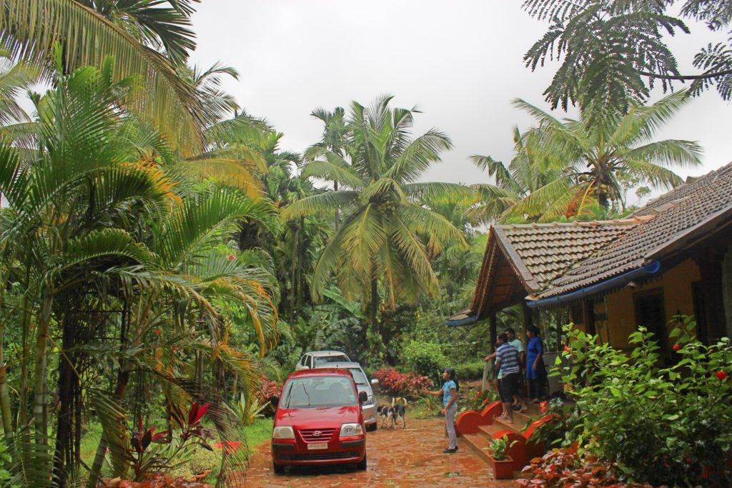 Ajjanamane in Monsoons