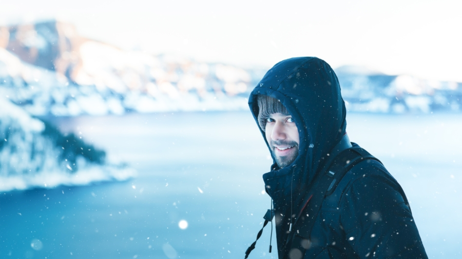 Winter mens fashion
